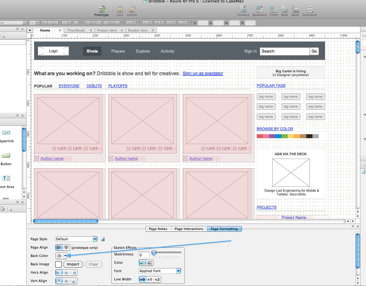 Totalwireframe Provider Of Fine Axure Widget Libraries